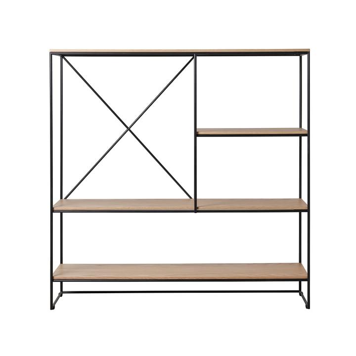 Planner shelf medium by Fritz Hansen in oak / black