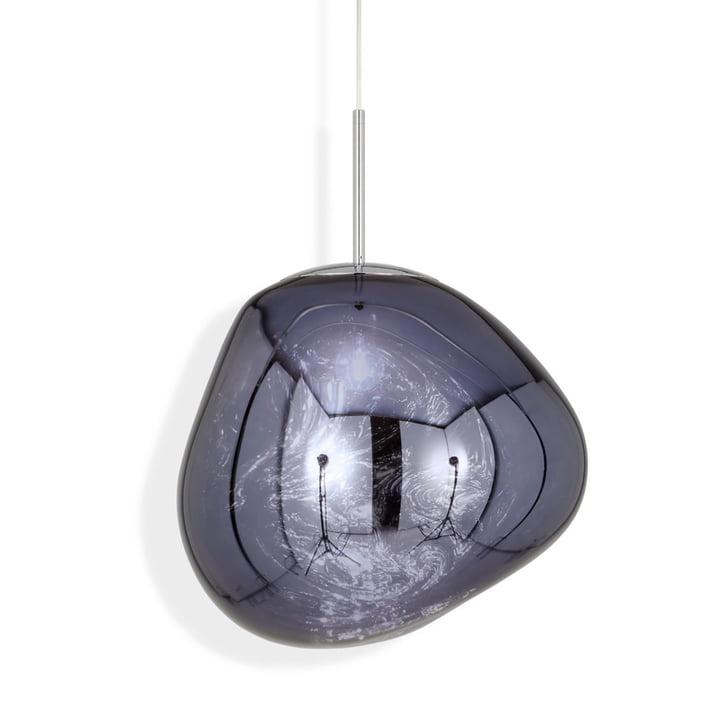 Melt LED pendant luminaire by Tom Dixon in smoke
