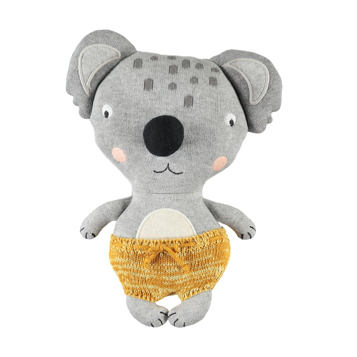 Knitted cuddly toy baby Koala Anton by OYOY