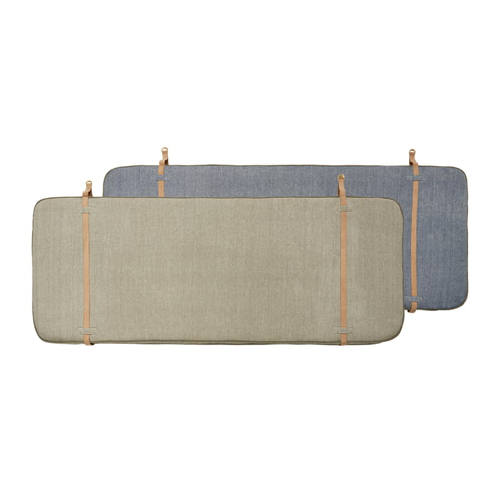 Bed headboard 180 cm from OYOY in beige / dark blue