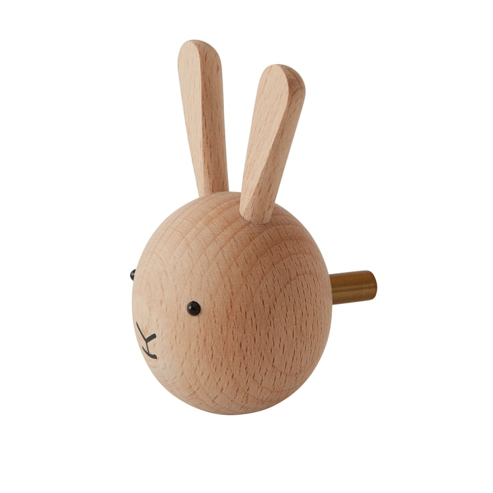 Kids wall hook bunny from OYOY