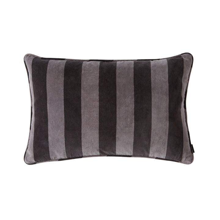 Confect velvet cushion 60 x 40 cm from OYOY in asphalt / dark grey