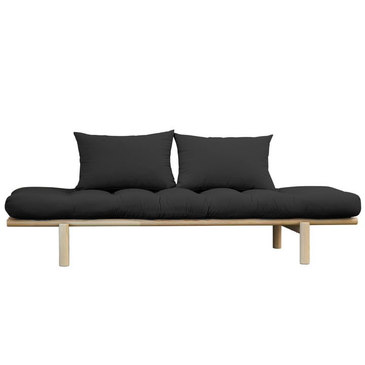 Pace Daybed, Nature / dark grey (734) by Karup Design