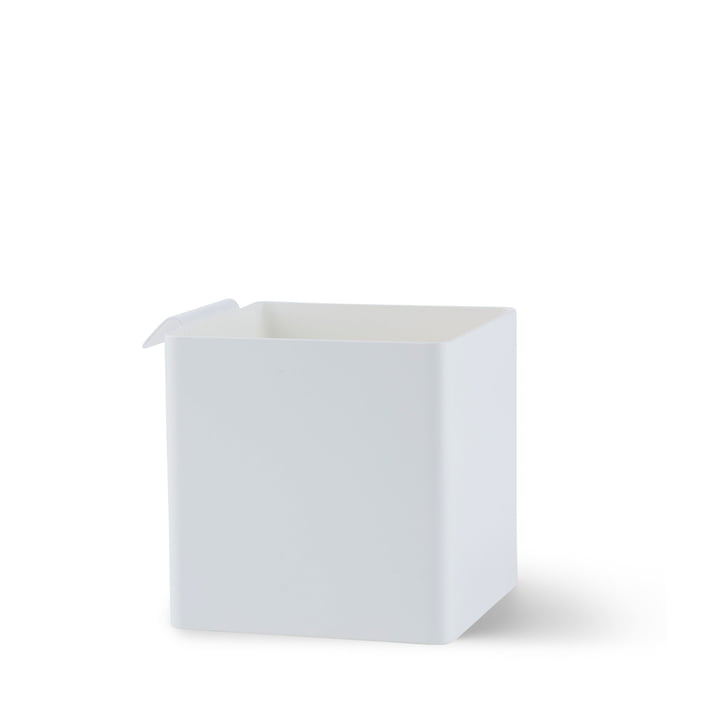 Flex Box small, 105 x 105 mm in white by Gejst