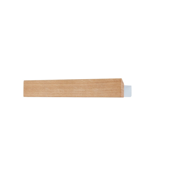 The Flex shelf 40 cm in oak / white by Gejst