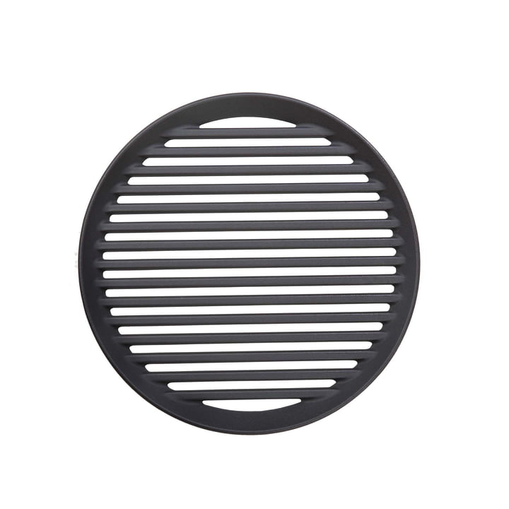 Cast iron grill for Forno grill Ø 32 cm from Morsø in black