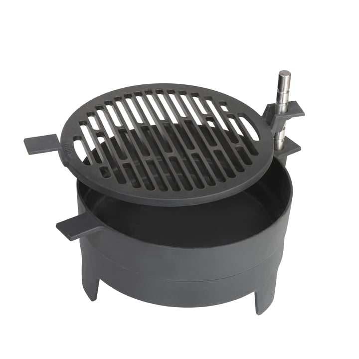 Table grill 71 in black from Morsø