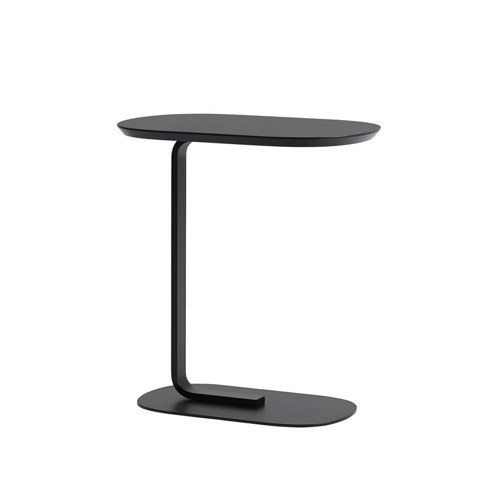 Relate Side Table in black by Muuto