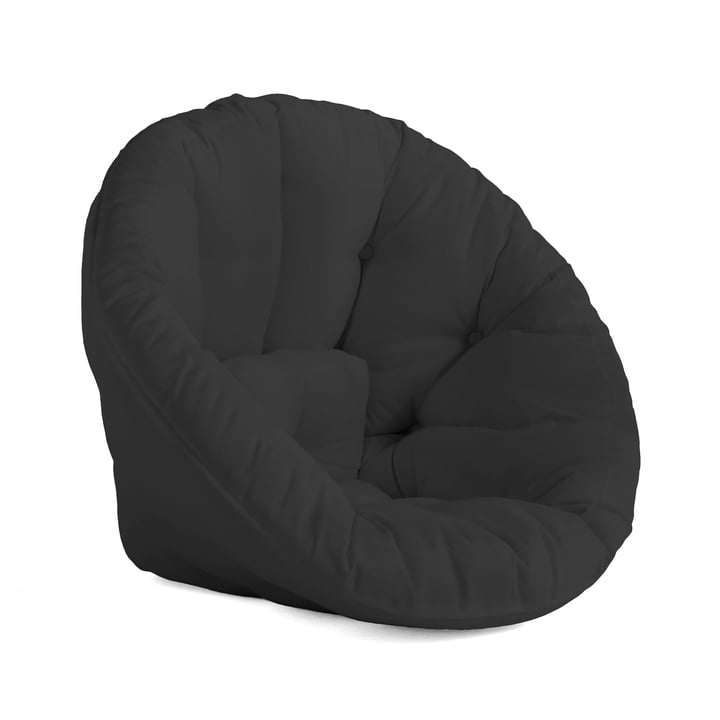 Nido OUT Futon armchair by Karup Design in dark grey (403)