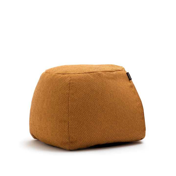173 Pouf Ø 55 cm from freestyle in golden yellow (4027)