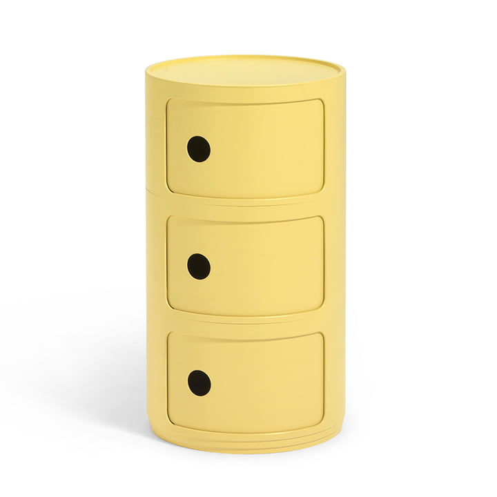 Componibili Bio 5970 from Kartell in yellow