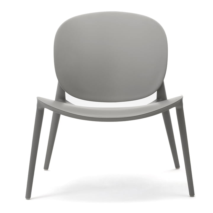 Be Bop armchair from Kartell in grey matt