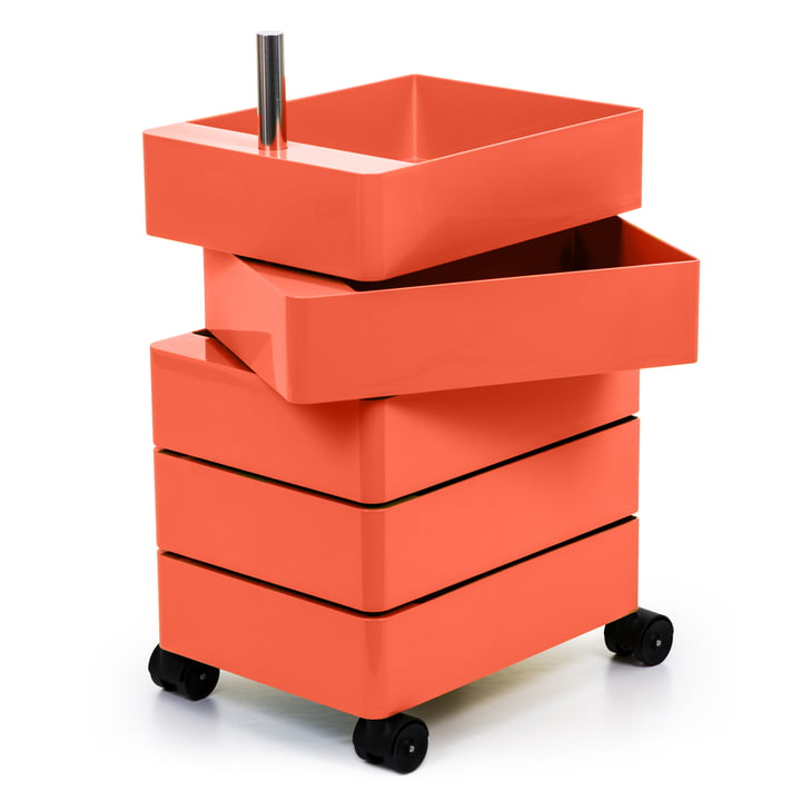 360° container 5 compartments in pink by Magis