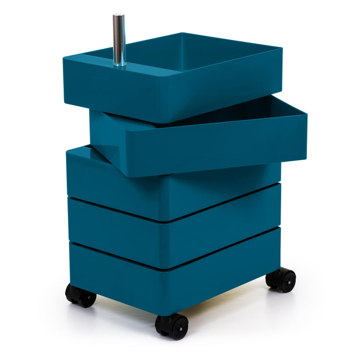 360° container 5 compartments in blue by Magis