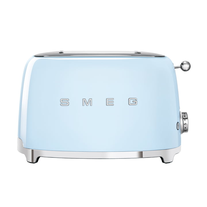 2-Slices Toaster TSF01 in pastel blue by Smeg