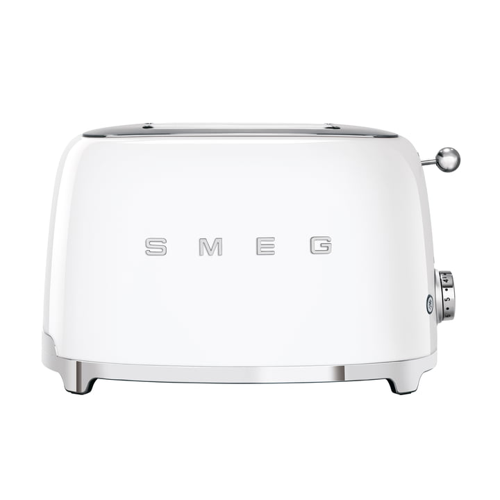 2-Slices Toaster TSF01 in white by Smeg