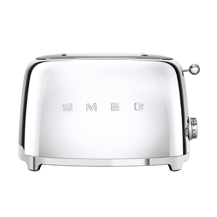 2-Slices Toaster TSF01 in Chrome by Smeg