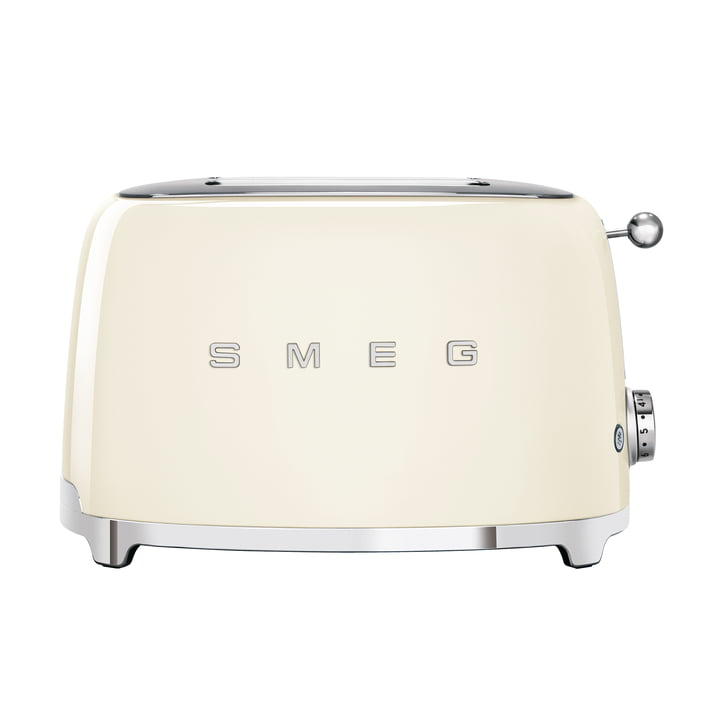 2-Slices Toaster TSF01 in cream by Smeg