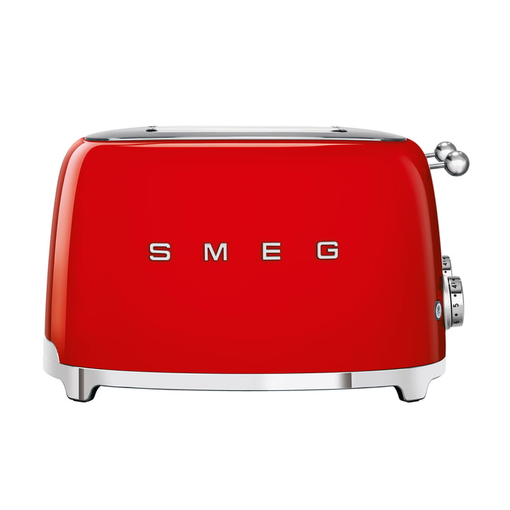 4-Slices Toaster TSF03 in red by Smeg