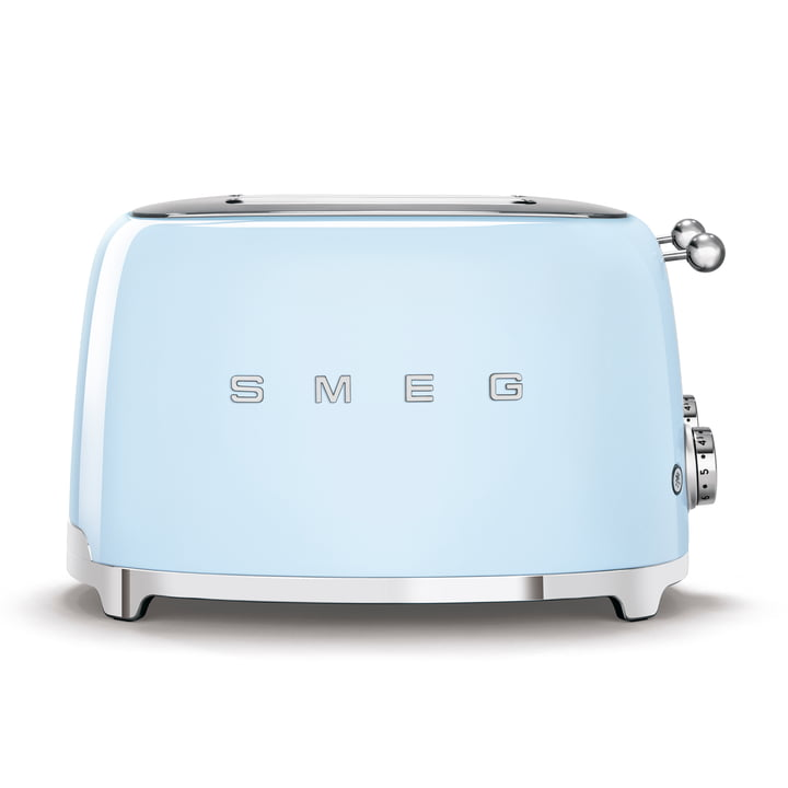 4-Slices Toaster TSF03 in pastel blue by Smeg