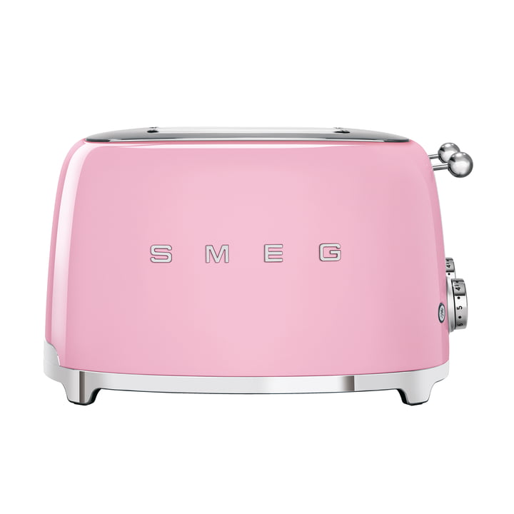 4-Slices Toaster TSF03 in cadillac pink by Smeg
