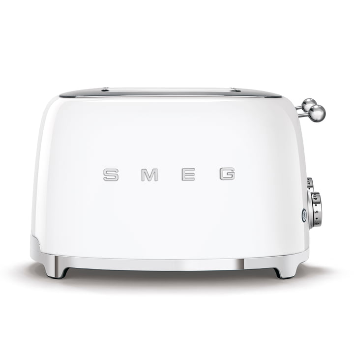 4-Slices Toaster TSF03 in white by Smeg