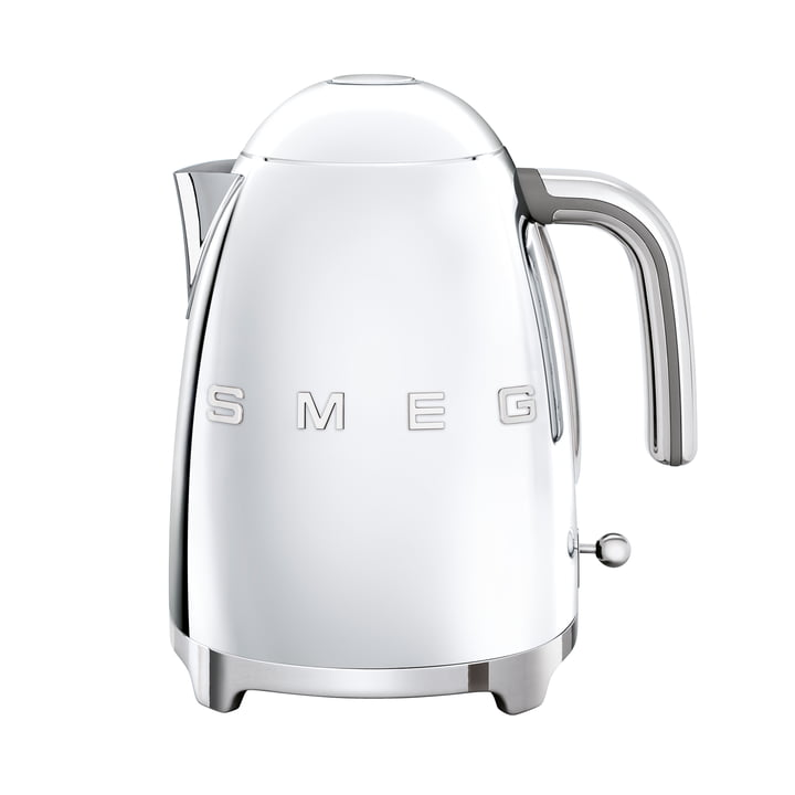 Kettle 1,7 l (KLF03) in chrome from Smeg