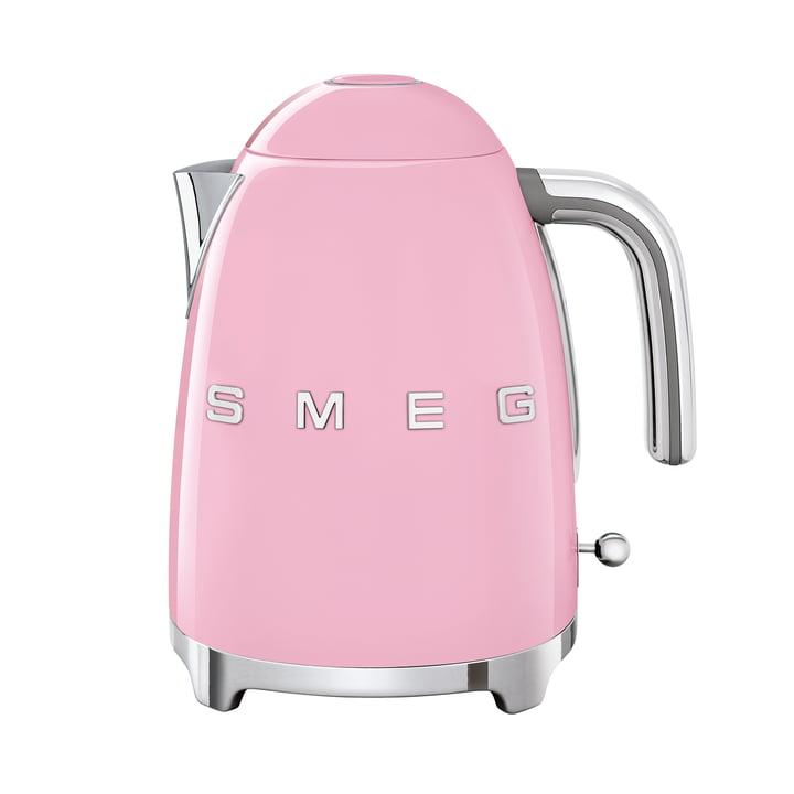 Water boiler 1,7 l (KLF03) in cadillac pink by Smeg