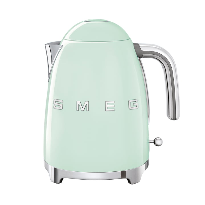 Water boiler 1,7 l (KLF03) in pastel green by Smeg