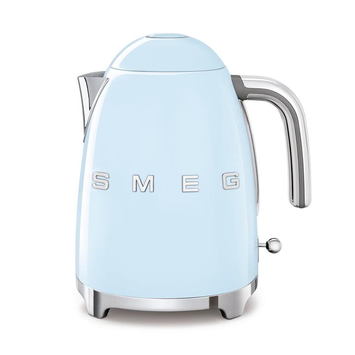 Water boiler 1,7 l (KLF03) in pastel blue by Smeg