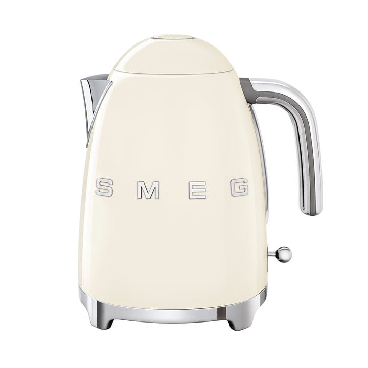 Kettle 1,7 l (KLF03) in cream from Smeg