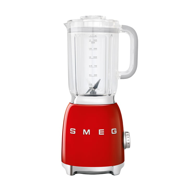 Blender 1,5 l (BLF01) in red by Smeg