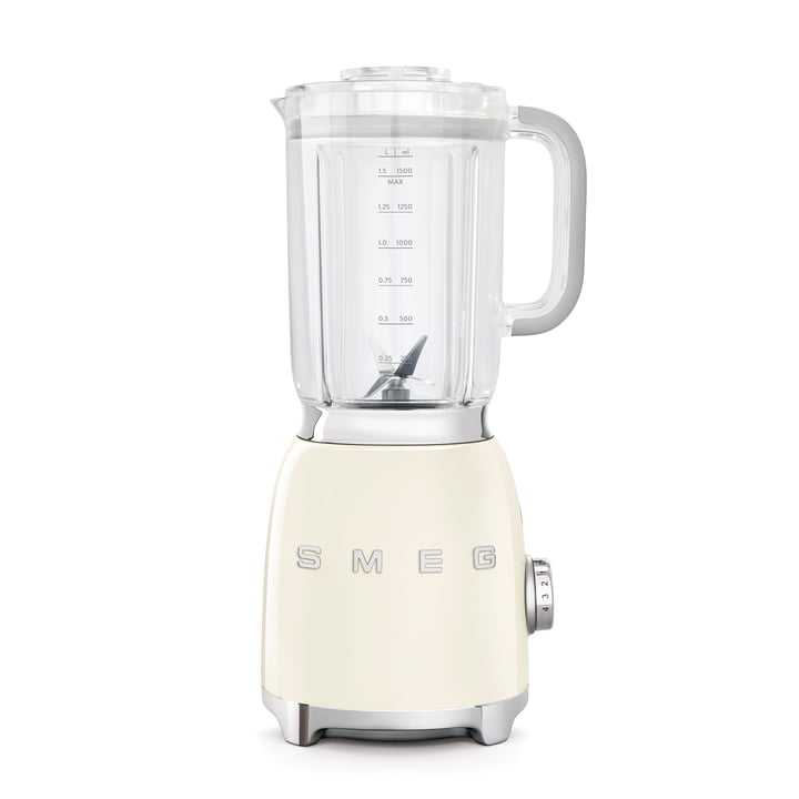 Blender 1,5 l (BLF01) in cream from Smeg