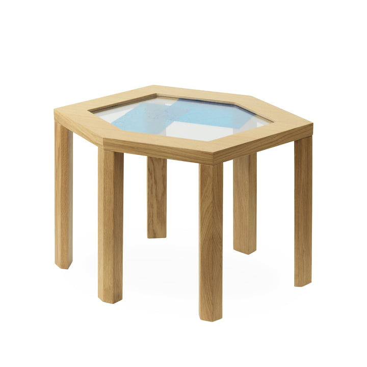 Collins side table in oak by Normann Copenhagen