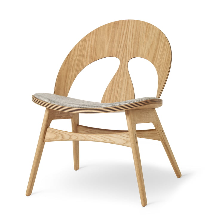 BM0949P Contour Chair in oiled oak / Kvadrat Molly by Carl Hansen