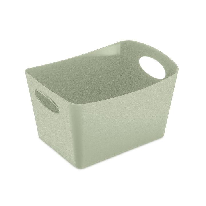 Boxxx S Storage box in organic green by Koziol