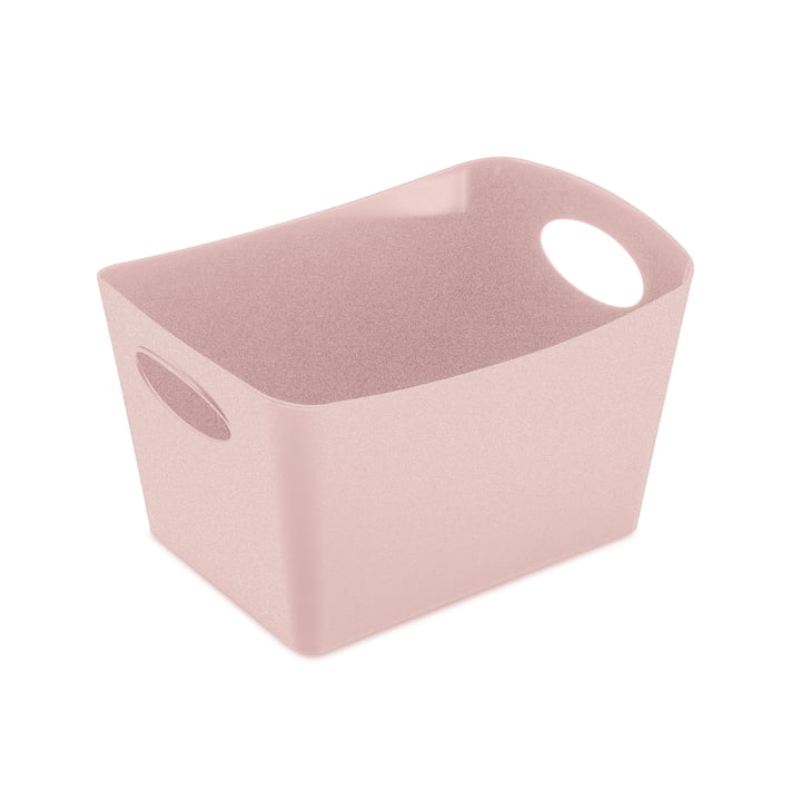Boxxx S Storage box in organic pink by Koziol