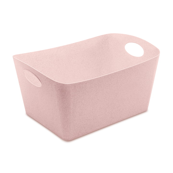 Boxxx L Storage box in organic pink from Koziol