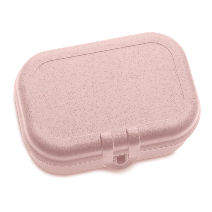 Pascal S Lunchbox, organic pink by Koziol