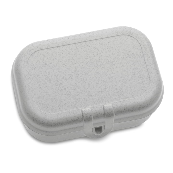 Pascal S lunchbox in organic grey by Koziol