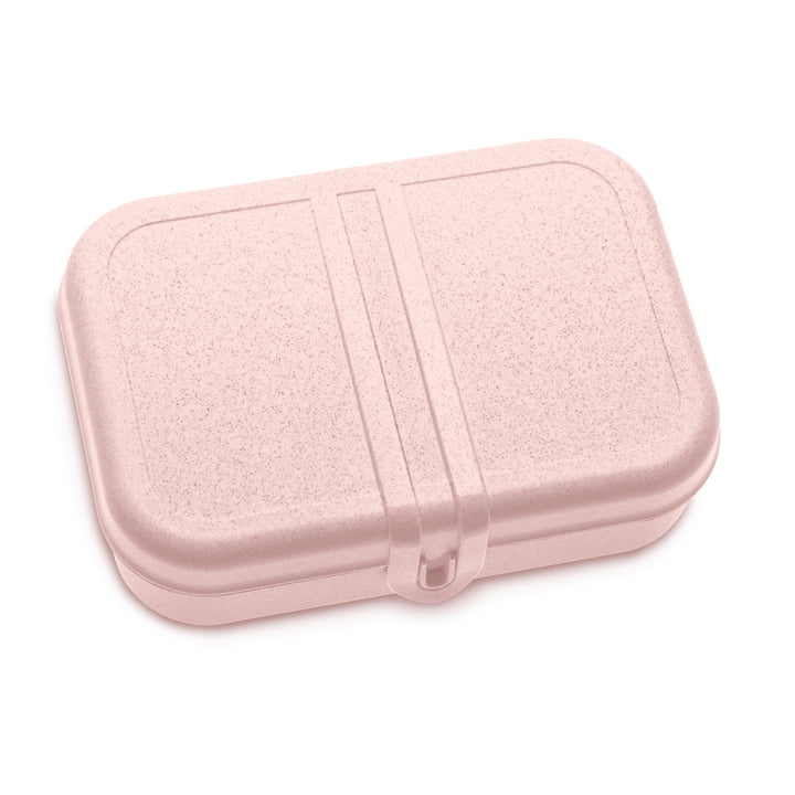 Pascal Lunchbox with divider in organic pink from Koziol