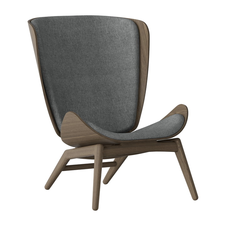 The Reader Armchair from Umage in dark oak / slate grey
