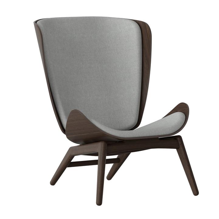 The Reader Armchair from Umage in dark oak / silver grey