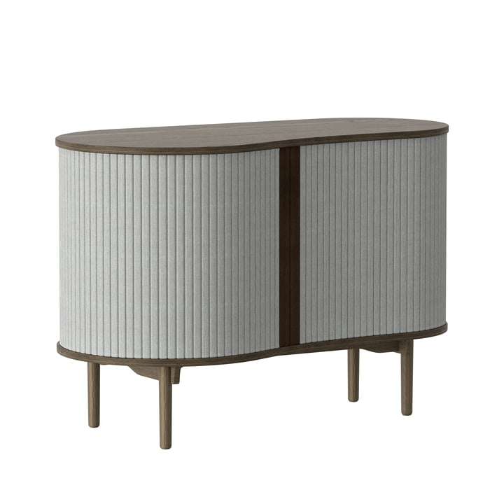 Audacious dresser from Umage in dark oak / silver grey