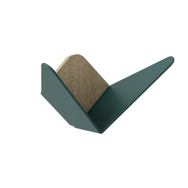 Butterflies wall hook mini by Umage in forest green