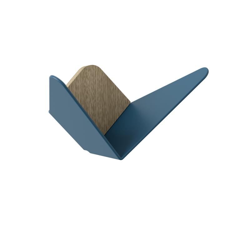 Butterflies wall hook mini from Umage in petrol-blue