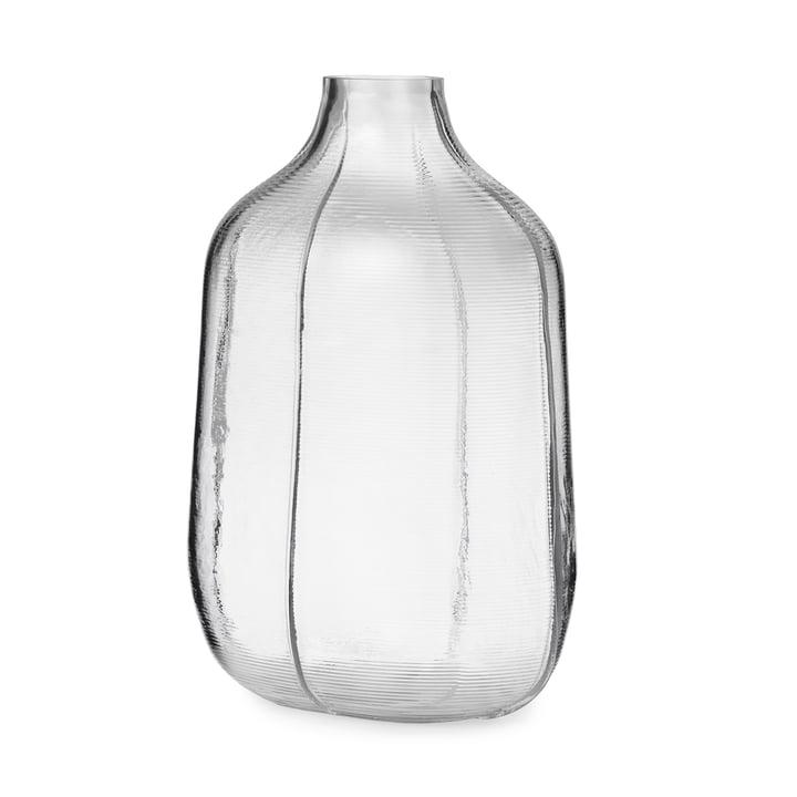 Step Vase H 31 cm in clear from Normann Copenhagen