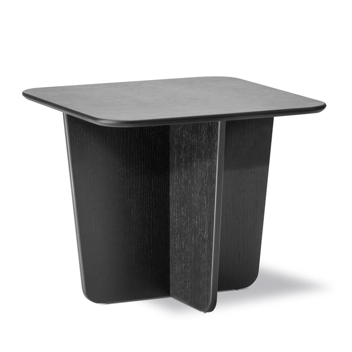 Tableau side table 52 x 52 cm of Fredericia in oak black lacquered