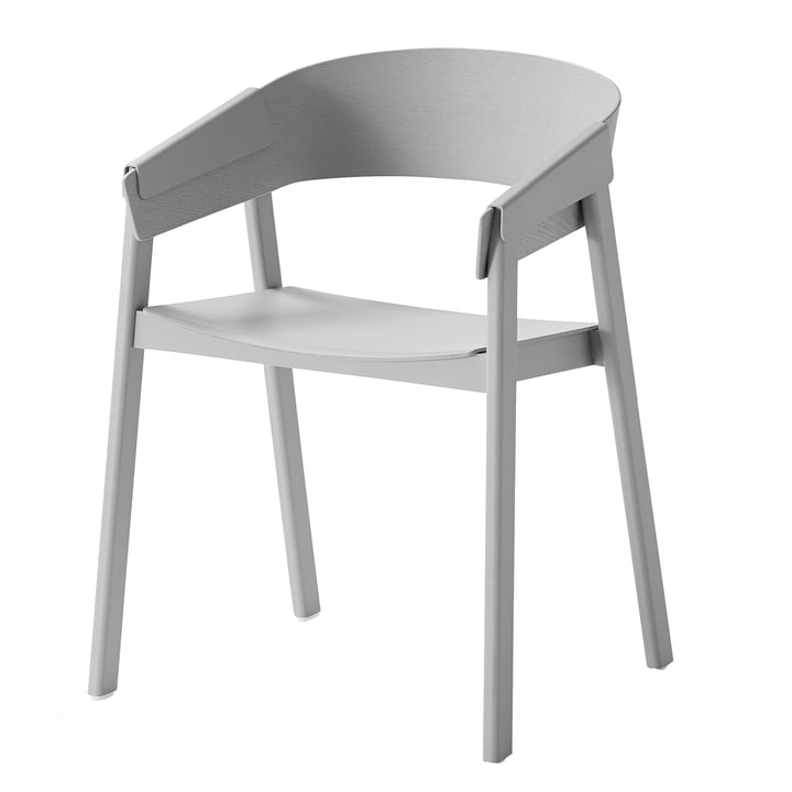 Cover chair by Muuto in grey