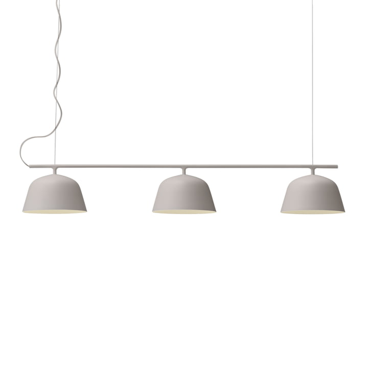 Ambit Rail pendant lamp from Muuto in taupe